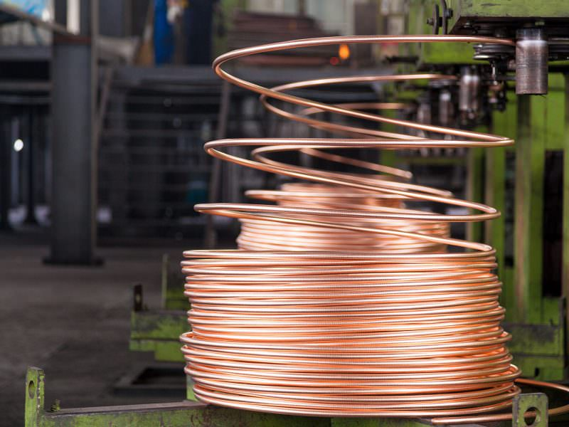 COPPER WASHED WIRE